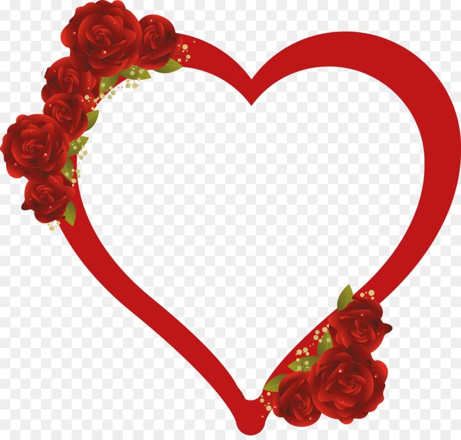 900x860 Rose Heart Drawing Flower Clip Art
