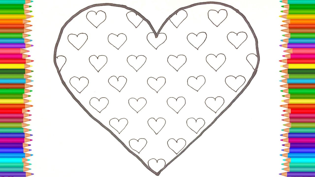 Heart Coloring Pages | Coloring Kids