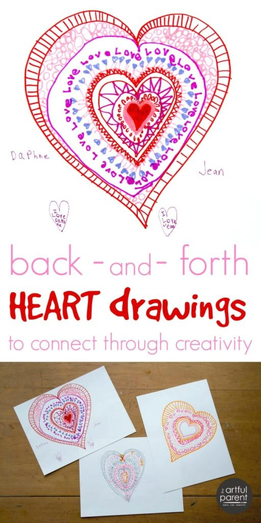 512x1024 A Heart Drawing Activity To Celebrate Connection