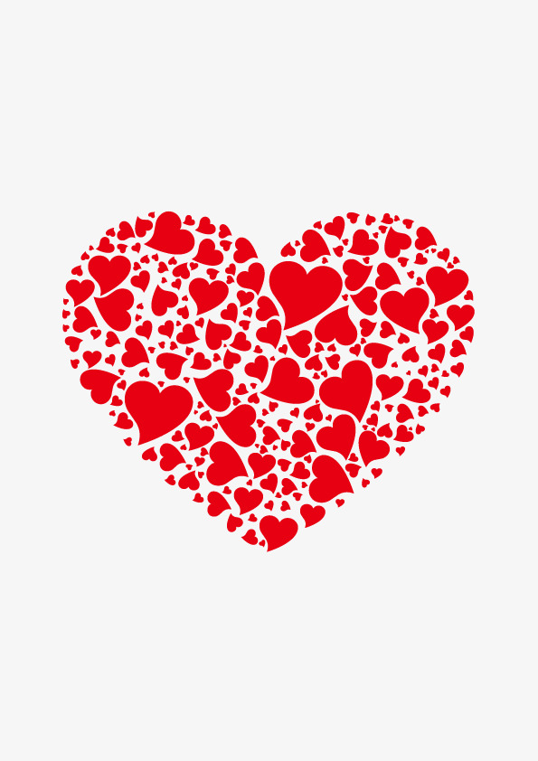 595x842 Heart Shaped Element Vector, Simple, Png Free Hand Drawing, Joyous