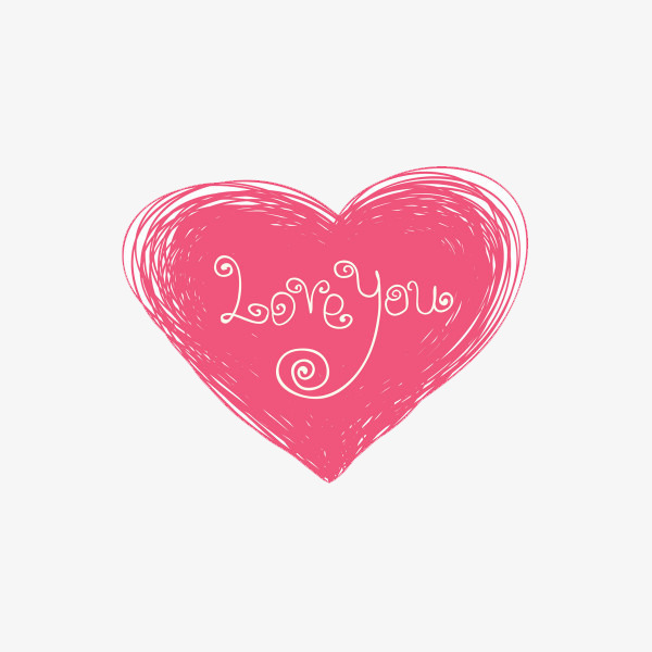 600x600 Line Drawing Heart, Line, Pink, Heart Png Image And Clipart