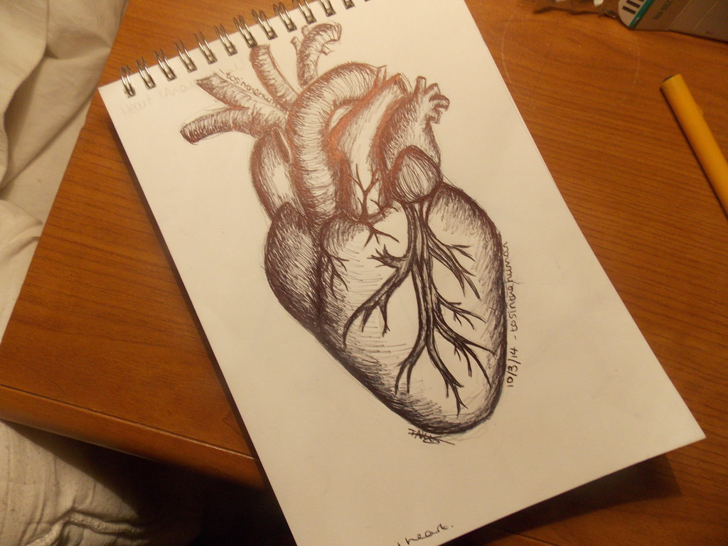 Heart Drawing Tattoo at GetDrawings.com | Free for personal use ...