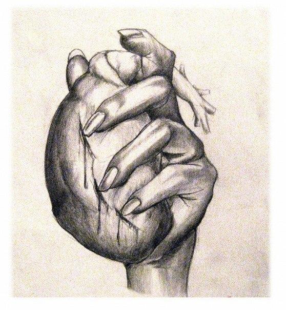 558x604 Heart In Hand Tattoo Sketch Best Tattoo Designs
