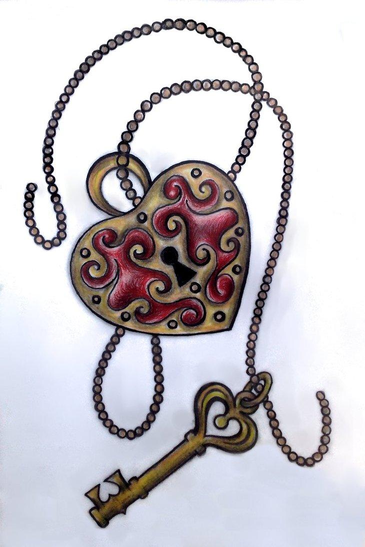 730x1095 Heart Locket By Eatmysik