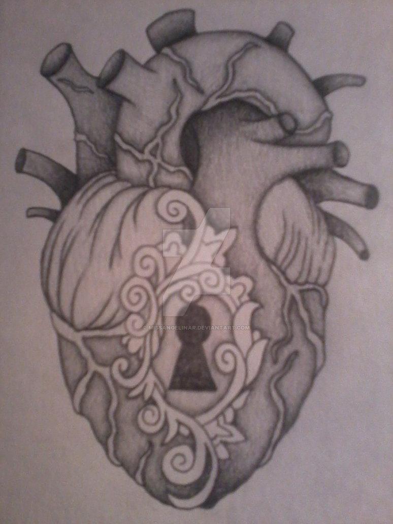 774x1032 Anatomical Heart Locket By Missangelinar