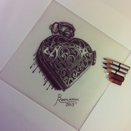500x500 Locket Drawing Uploaded By Luisa Juliana Romero