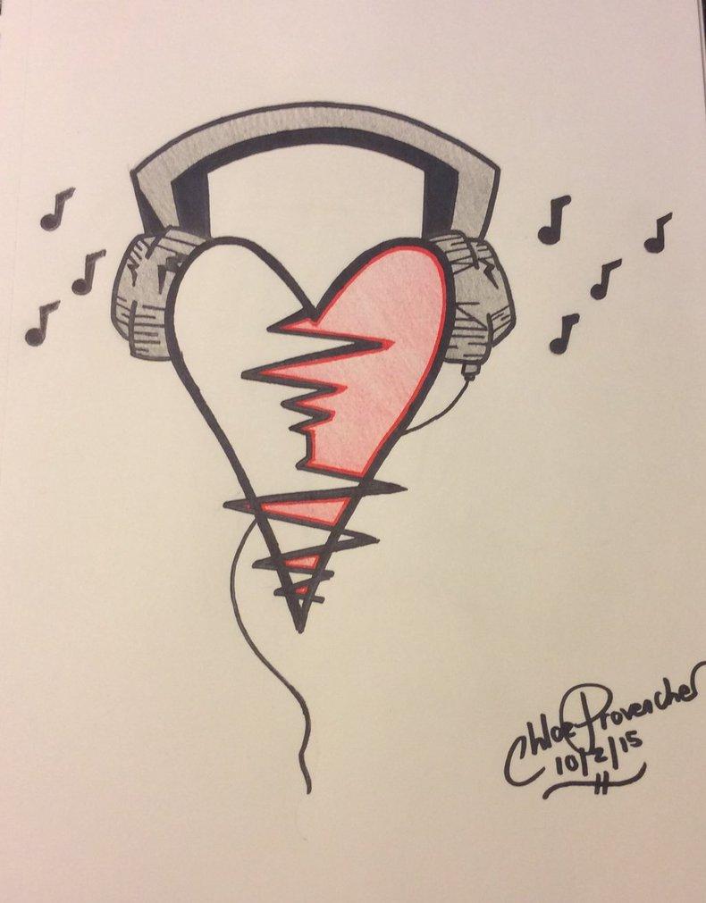 790x1011 Headphone Heart Monitor By Crazycatgirl525