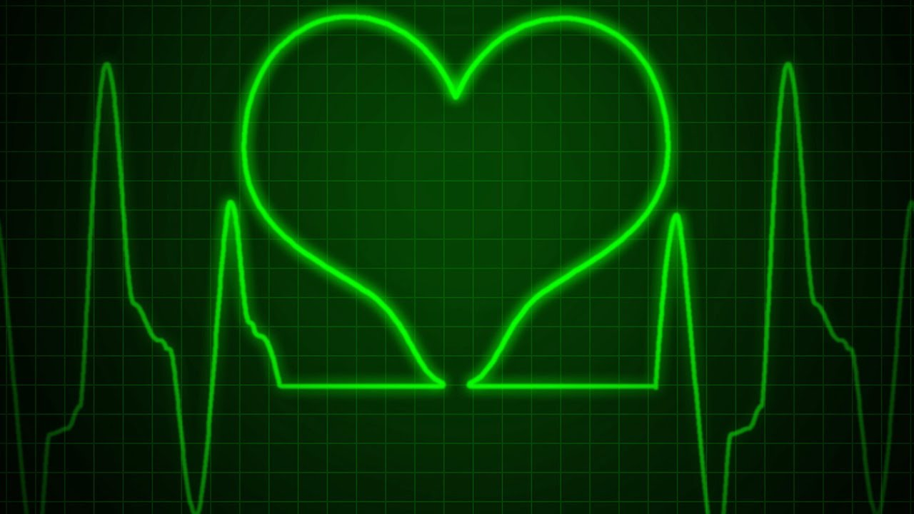 1280x720 Photoshop Tutorial How To Make A Heart Monitor With Heartbeats