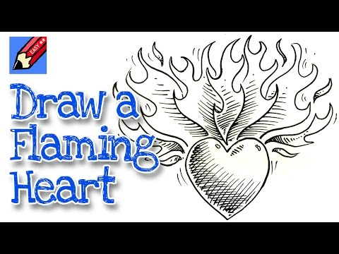 480x360 How To Draw A Heart On Fire Shoo Rayner Author