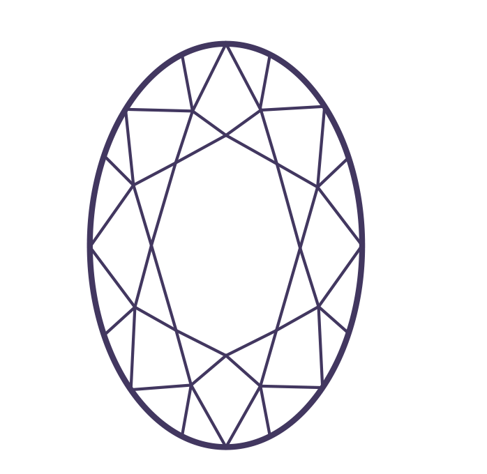 It is a graphic of Juicy Diamond Shape Drawing