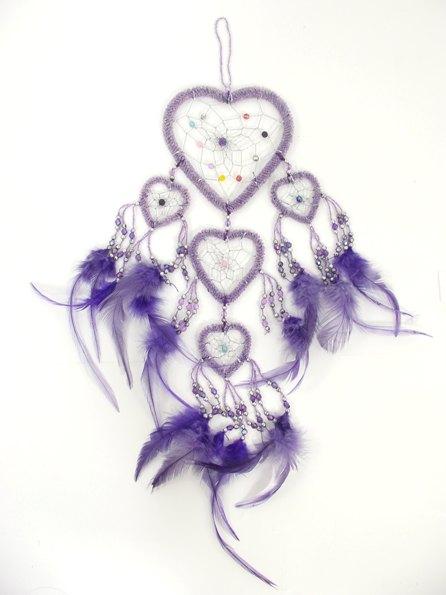 446x595 Dream Catcher Hippy Heart Shaped Dream Catcher Unique Multi Heart