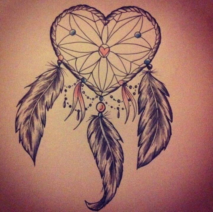 720x718 Heart Shaped Dreamcatcher
