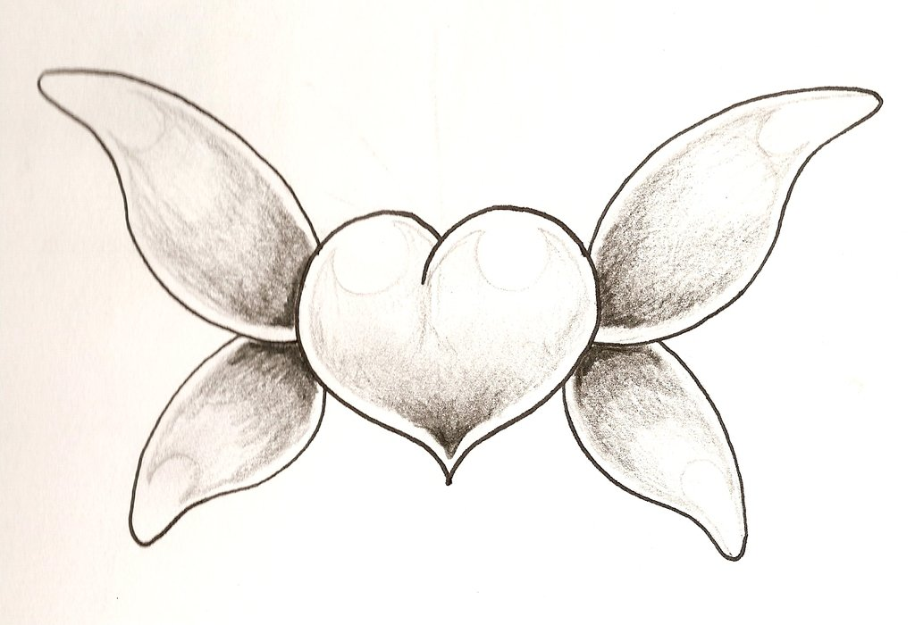 1024x700 Heart Tattoos Page 83 Heart Tattoo Designs On Butterfly Wings