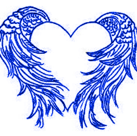 heart with angel wings drawing at getdrawings com free for rh getdrawings com images of hearts with angel wings pictures of hearts with wings tattoos