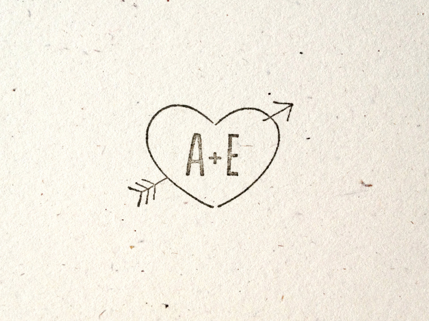 Heart With Arrow Drawing At GetDrawings