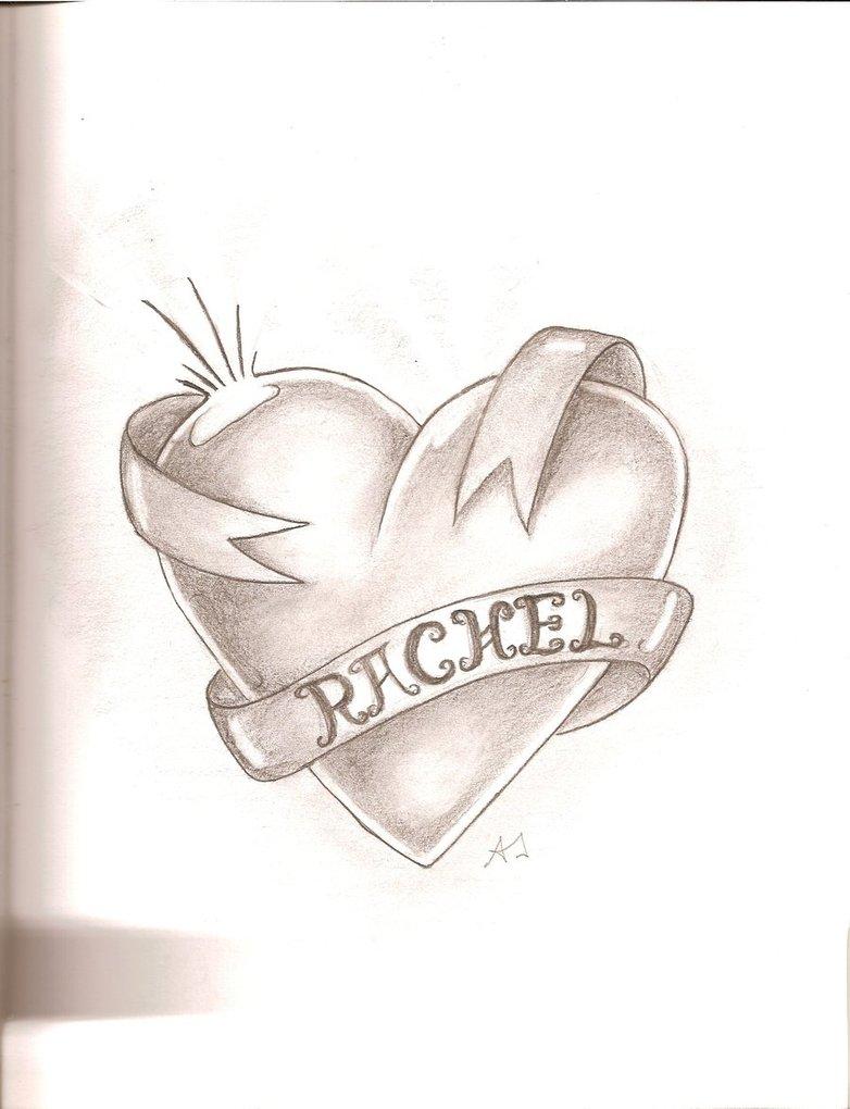 782x1020 Ribbon Heart By Da Guy With A Pie