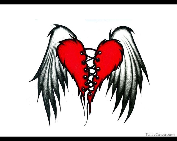736x588 Photos Broken Heart With Wings,