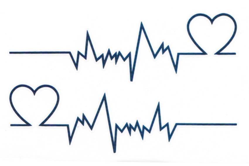 850x567 Heartbeat Tattoos