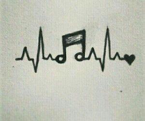 300x250 Music Is Heartbeat Wallpaper Draw, Doodles