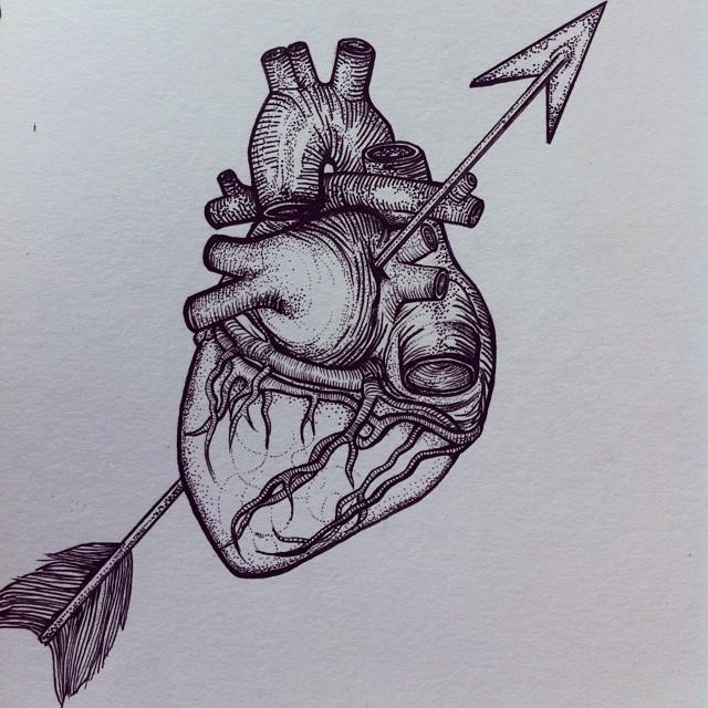 640x640 Foxglove Illustration Heart Break