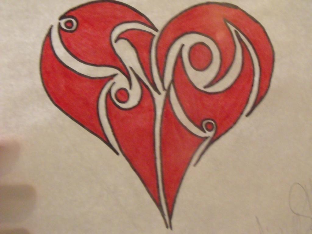 1024x768 Cool Drawing Of Hearts Cool Drawing Of Hearts