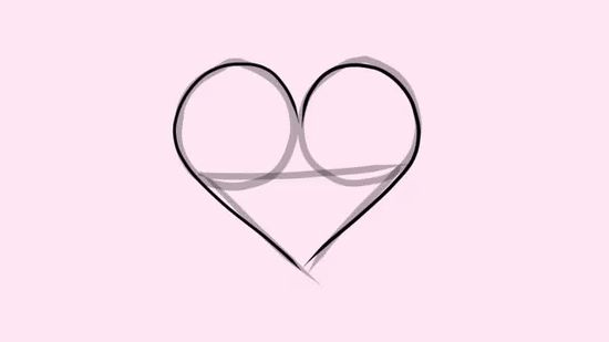550x309 Gallery How To Draw Hearts,