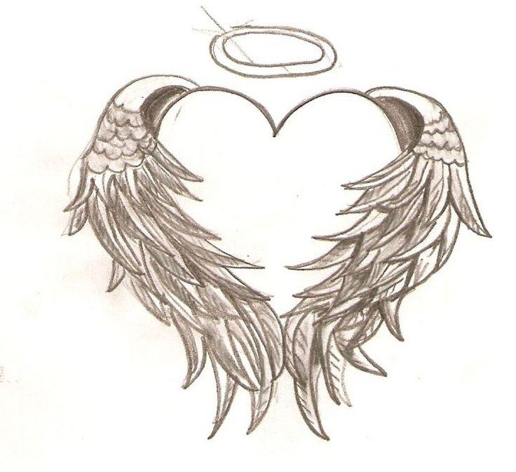 736x673 Collection Of Old School Color Comic Bird Angel Demon Heart