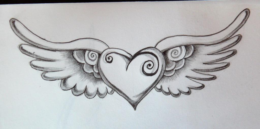 1024x509 Draw Angel Wings