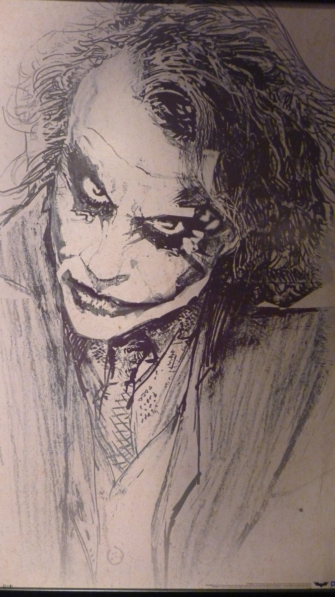 674x1200 Dark Knight Joker Heath Ledger