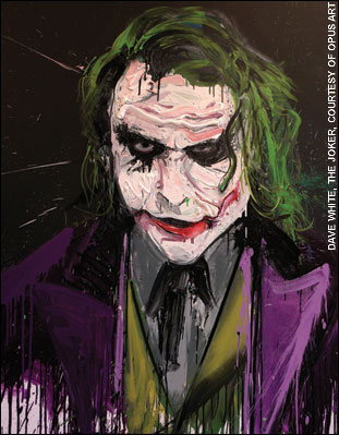 311x399 Heath Ledger Captured In Joker Portrait By Dave White