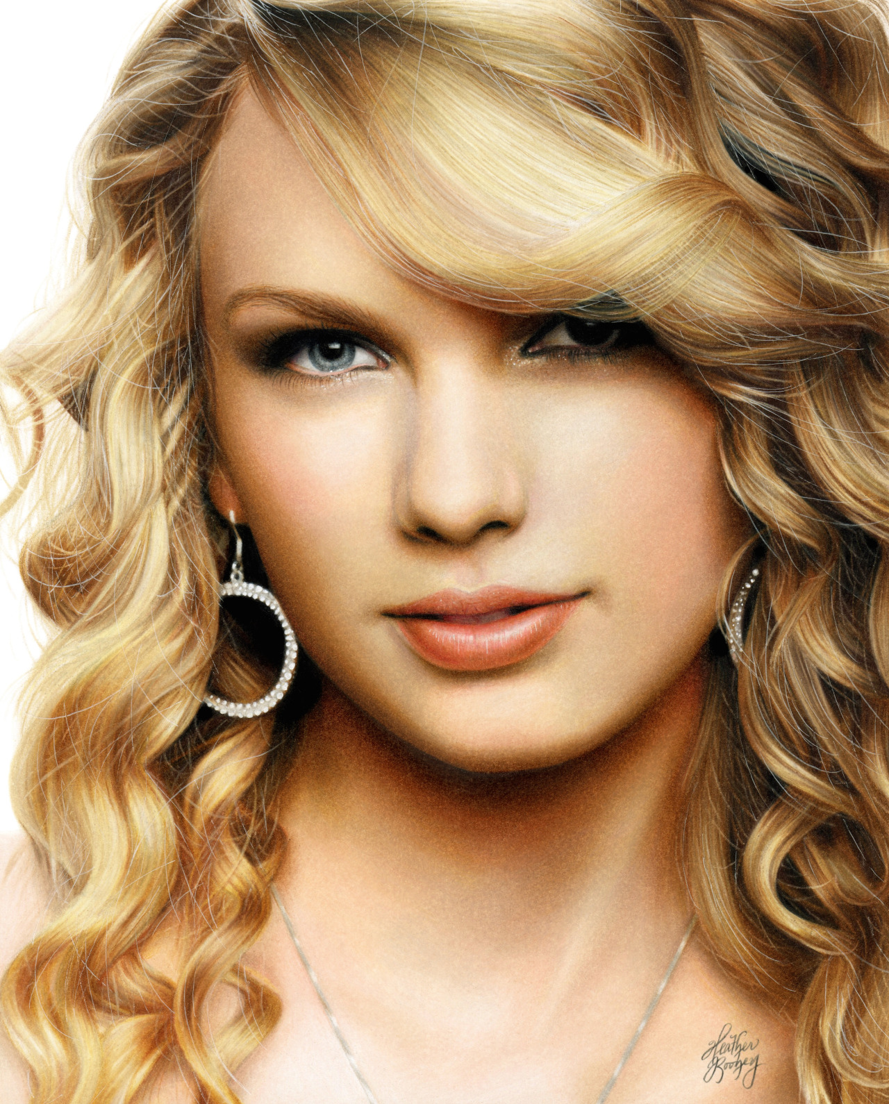 1280x1590 Colored Pencil Drawing Of Taylor Swift By Heather Rooney Heather