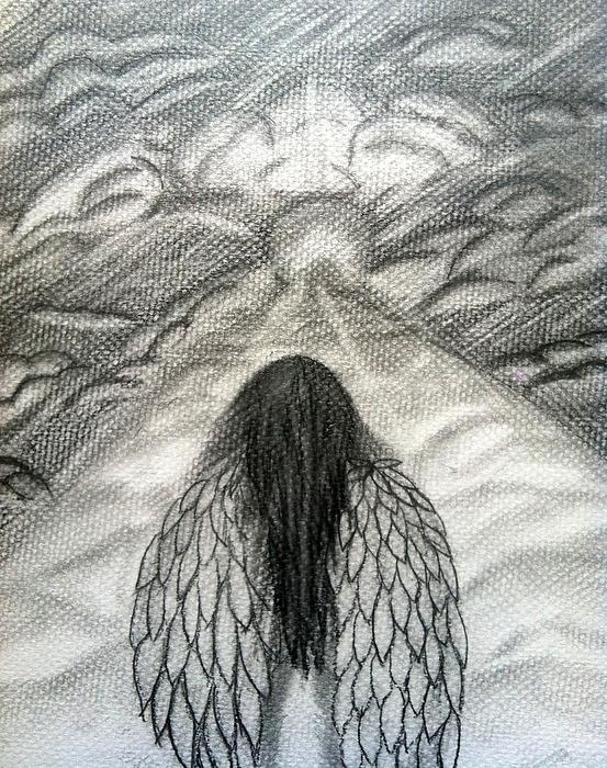 553x700 Pencil Drawings By Saribelle Rodriguez ( Colon Rosario) Angel