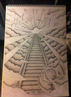 236x323 Popular Drawing Designs Stairway To Heaven By Heteroclite360