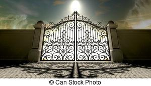 300x171 Heavens Open Ornate Gates. A Set Of Ornate Gates To Heaven