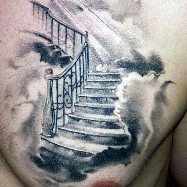 600x600 50 Heaven Tattoos For Men