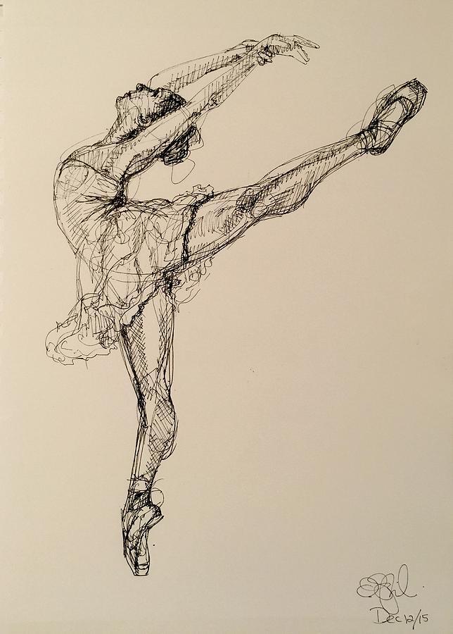 644x900 Drawing By Olga Szkabarnicki