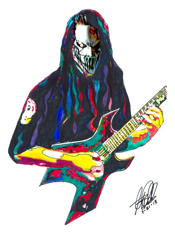 570x760 Mick Thomson Slipknot Guitar Player Heavy Metal Death