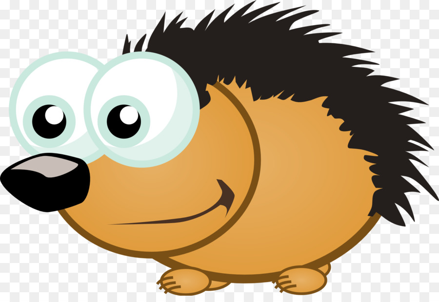 900x620 European Hedgehog Cartoon Drawing Clip Art