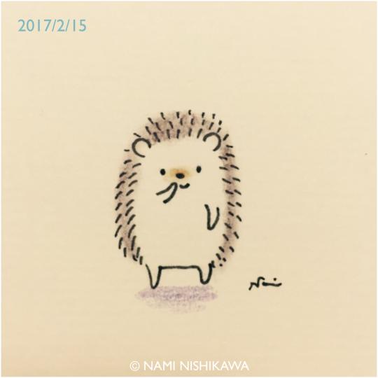 540x540 Nami Nishikawa Hedgehogs