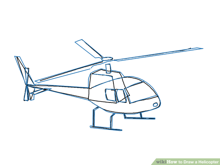 728x546 How To Draw A Helicopter (With Pictures)
