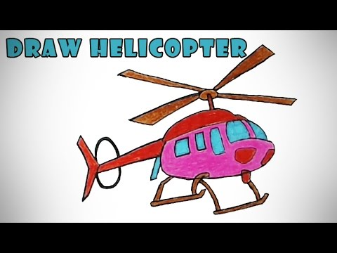 480x360 How To Draw An Helicopter