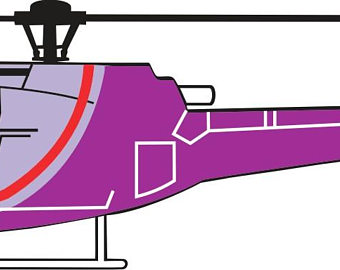 340x270 Helicopter Drawing Etsy