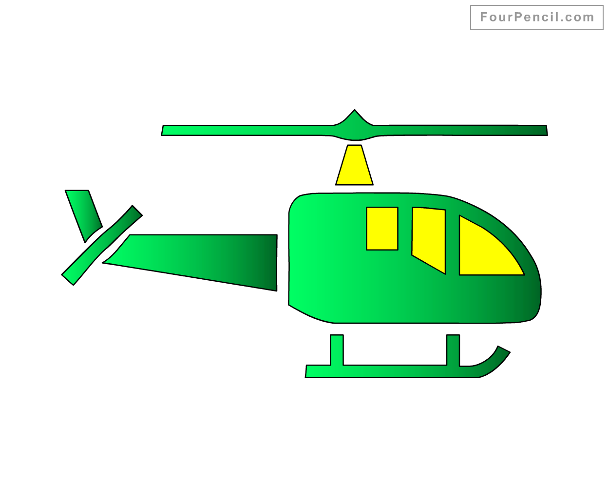 Helicopters Drawing at GetDrawings.com | Free for personal use ...