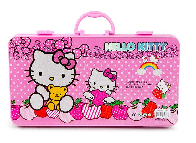 626x457 Hello Kitty Children Boys Girls Cartoon Drawing Art Set,with