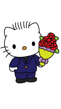 215x382 How To Draw Dear Daniel, Hello Kitty, Cartoons, Easy Step By Step