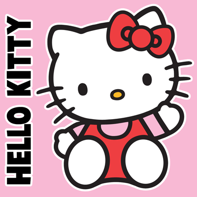 400x400 How To Draw Hello Kitty Sitting With Simple Steps For Kids