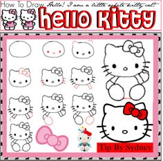 236x234 How To Draw Hello Kitty Drawing Hello Kitty