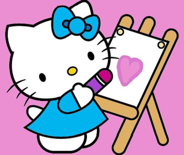 600x504 Hello Kitty's Drawing. By Bjnix248