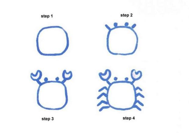620x438 How To Draw How To Draw A Cartoon Crab