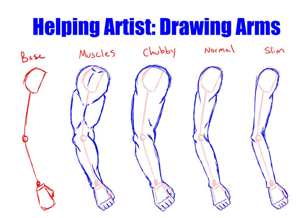 1062x751 Helping Artist Drawing Arms By Vesenia